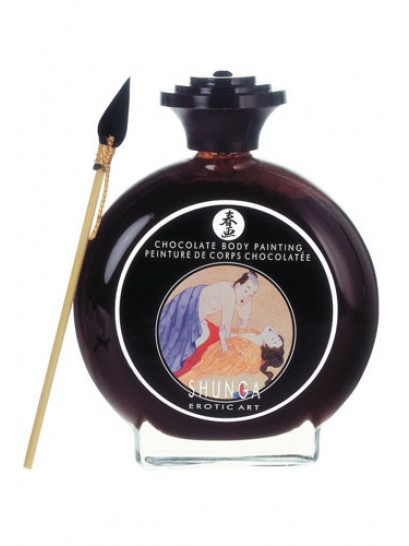 SHUNGA BODY PAINT CHOCOLATE COMESTIBLE 100ML.