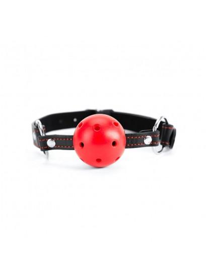 ARGUS FETISH RED HEARTH BALL GAG
