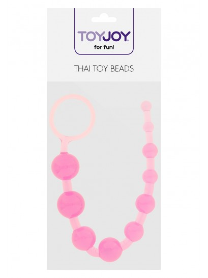 THAI TOY BEADS BOLAS TAILANDESAS ROSA