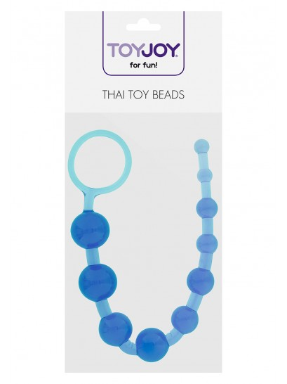 THAI TOY BEADS BLUE