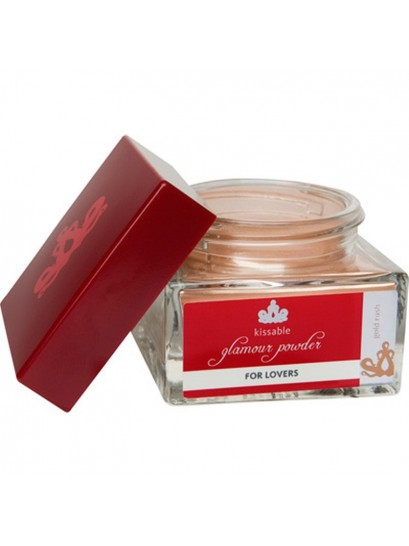 KISSABLE GLAMOUR POWDER GOLD RUSH