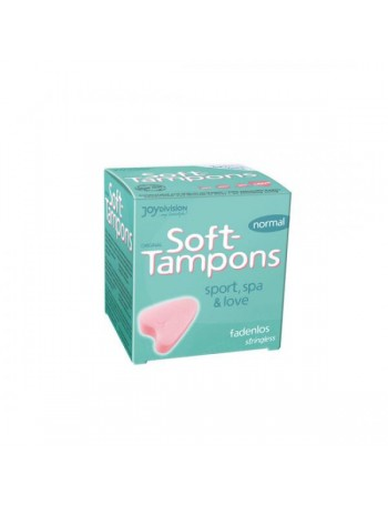 SOFT TAMPONS 3 UNIDADES