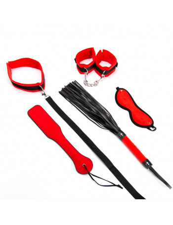 ARGUS FETISH RED BONDAGE SET