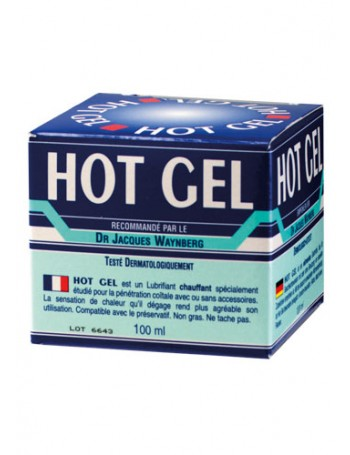 HOT GEL LUBRICANTE BASE AGUA 100 ML.