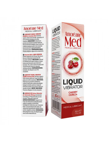 AMORÉANE MED LIQUID VIBRATOR CHERRY 30 ML