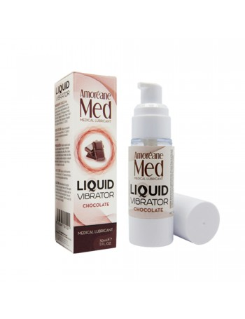 AMORÉANE MED LIQUID VIBRATOR CHOCOLATE 30 ML