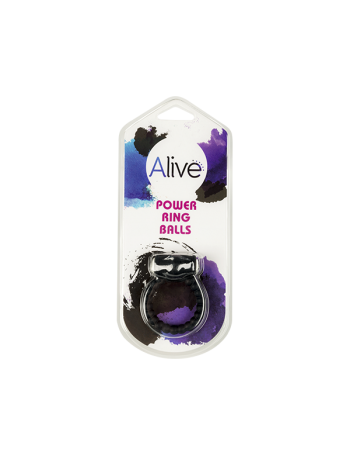 ALIVE POWER RING BALLS BLACK