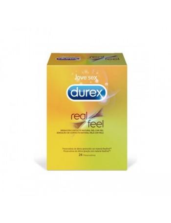 DUREX REAL FEEL 24 UD