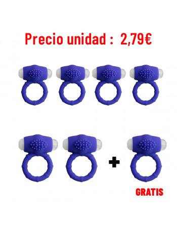 LIBID TOYS ORUKA ANILLO MORADO (PACK 6 + 1)