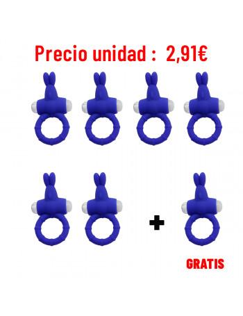LIBID TOYS LAPIN ANILLO MORADO (PACK 6 + 1)