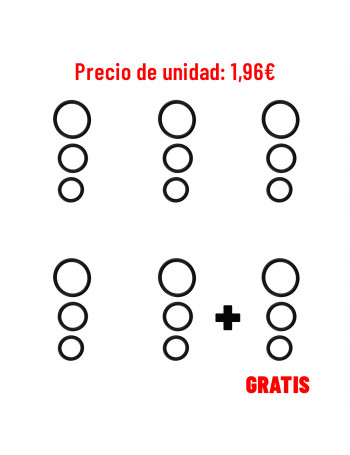 INTIMEN KAANG RINGS (PACK DE 5 + 1