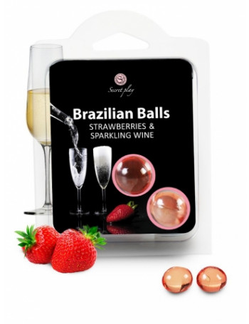SECRET PLAY SET 2 BRAZILIAN BALLS FRESA CAVA