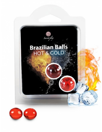 SECRET PLAY SET 2 BRAZILIAN BALLS HOT & COLD