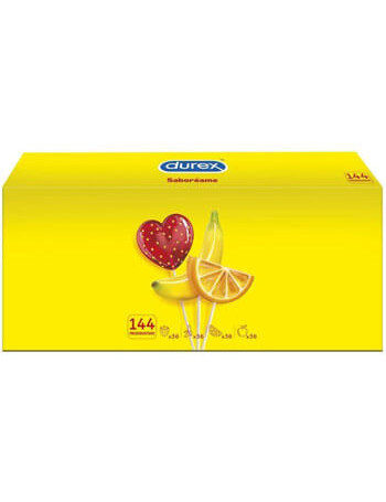 DUREX PLEASURE FRUITS 144 UDS