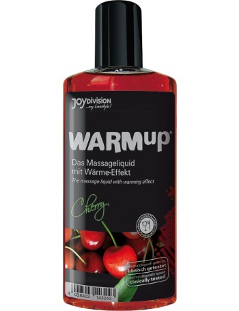 WARMUP ACEITE MASAJE EFECTO CALOR CEREZA 150 ML