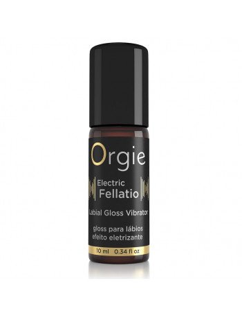 ORGIE SEXY VIBE! ELECTRIC FELLATIO VIBRATING GLOSS