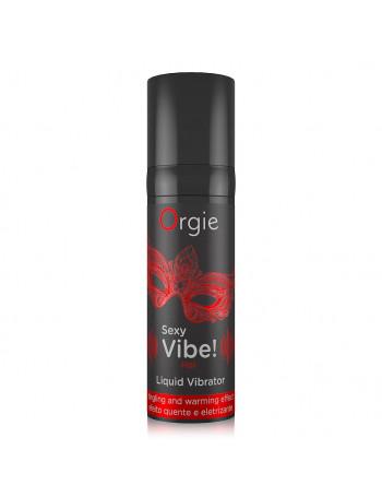 ORGIE SEXY VIBE! HOT LIQUID VIBRATOR