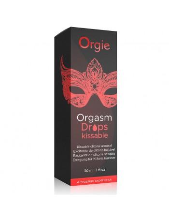 ORGIE ORGASM DROPS CLITORAL KISSSABLE