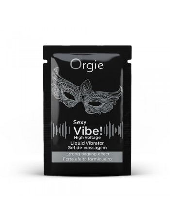 SACHET - ORGIE SEXY VIBE! HIGH VOLTAGE LIQUID VIBRATOR